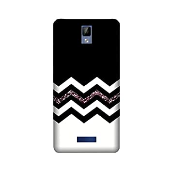 theStyleO Quality Printed Back Cover for Gionee P7 [Zig Zag Pattern] Mobile Accessories