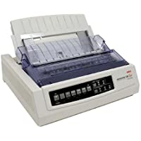 OKI Data Microline 320 Turbo Serial Dot Matrix Printer, 435 cps, 240x216dpi, Serial/Parallel/USB, 120V