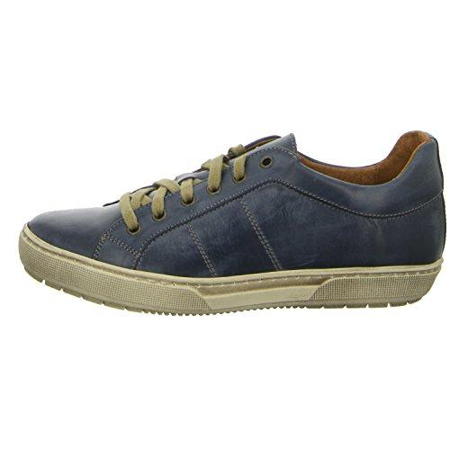 BOXX K3983-T Damen Sneaker Blau Leder Schnürer