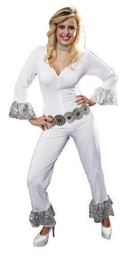 Women's Dancing Dream 70s ABBA Disco Costume. Sizes 10-14