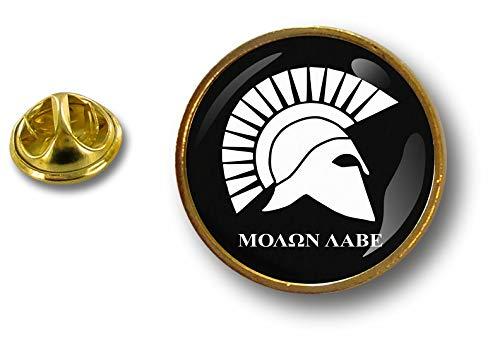 Akacha pins pin Badge pin's Metal Button Molon Labe Warrior Trojan Spartan Helmet P E3 021 molon labe spartan