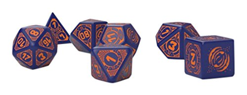 Q-Workshop Starfinder Dead Suns Dice Set 7 Board - Sun Shops