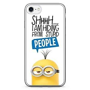 Loud Universe iPhone 7 Transparent Edge Case - Minion l