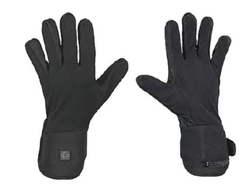 Venture Battery Powered Heated Glove Liners , Gender: Mens/Unisex, Primary Color: Black, Size: 2XL BX-923 2X - Battery Heated Glove Liners