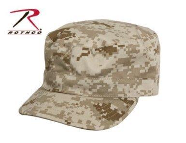 Rothco Fatigue Caps (Rothco Fatigue Cap, Desert Digital, Medium)