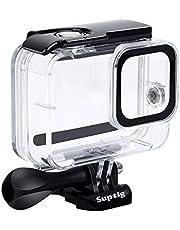 Suptig Waterdichte Case Beschermende Behuizing Compatibel voor GoPro Hero 8 Zwart Waterdicht 100ft (60 meter)