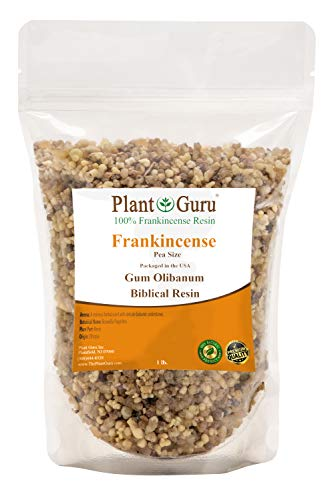 Frankincense Resin 1lb Pea Size 100% Pure Natural Aromatic Rock Incense Olibanum Gum Bulk