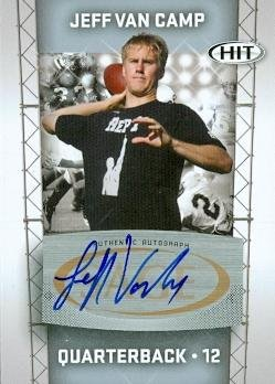 99771 Jeff Van Camp Autographed Football Card Florida Atlantic 2011 Sage Hit Rookie No. A13 ()