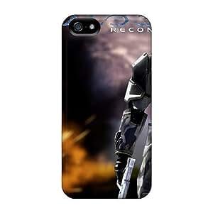 Hot Design Premium LKfokxV5950KftHA Tpu Case Cover Iphone 5/5s Protection Case(the Lone Hunter)