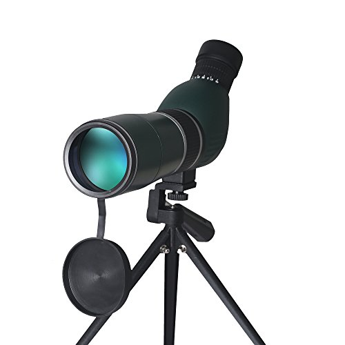 Spotting Scope 15-45X60 Waterproof telescope - 45 Degree Angled Telescope Spotting Scope Outdoor Hiking Bird Watching HD Monocular Telescope with Portable Tripod South Star Digital