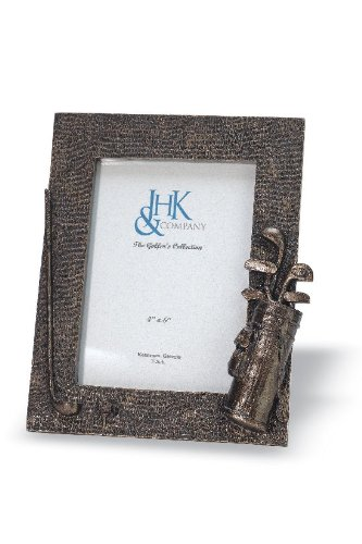Golfer's Golf Bag Picture Frame Made To Display Premium 5x7 Legends Play Holiday Present for Golfing Golfers (Golfing Legend)