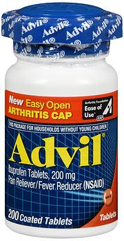 Advil Ibuprofen 200 mg - 200 Coated Tablets, Pack of 6 by Advil