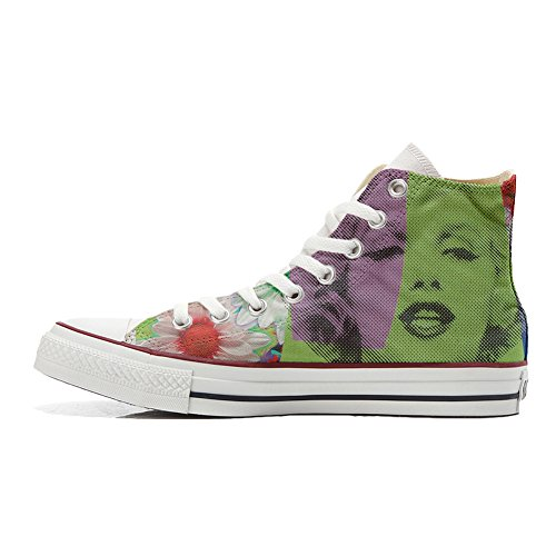 Marylin produit Adulte Visage Customized Converse Coutume Chaussures Artisanal 0FU1qwC