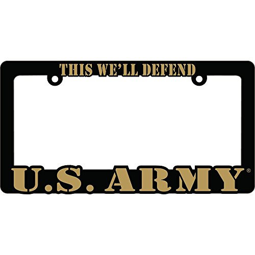 US ARMY Proud to Serve Auto License Plate Frame USA