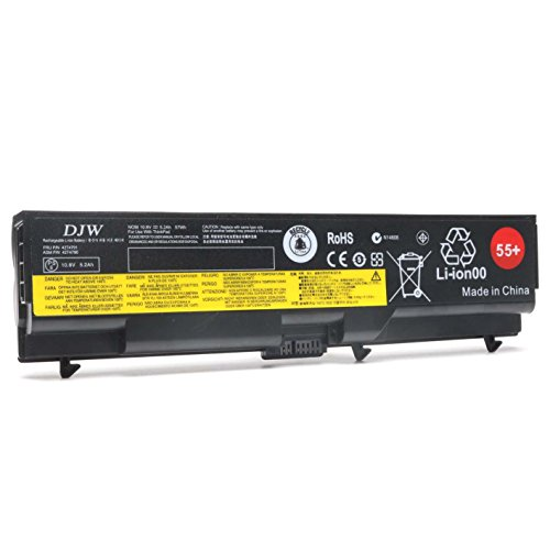 Ibm Lenovo Thinkpad Notebook (DJW 10.8V 57WH 55+ Laptop Battery for Lenovo ThinkPad and IBM ThinkPad Notebook Series)