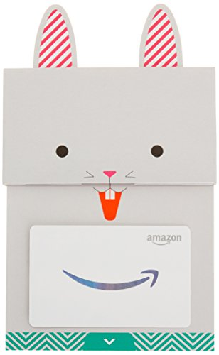 Amazon.com Gift Card in a Happy Bunny Slider