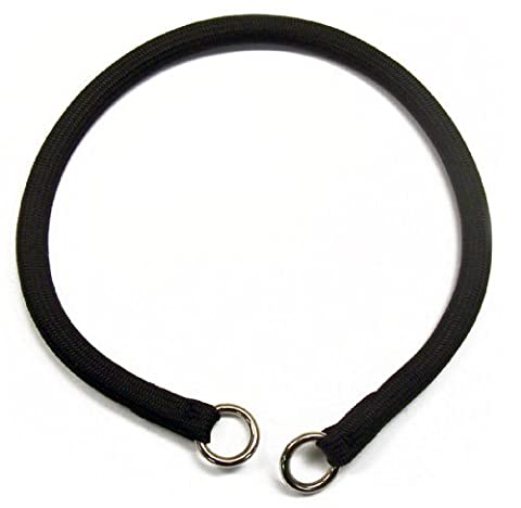 Round Nylon Choke Collar in Black 20