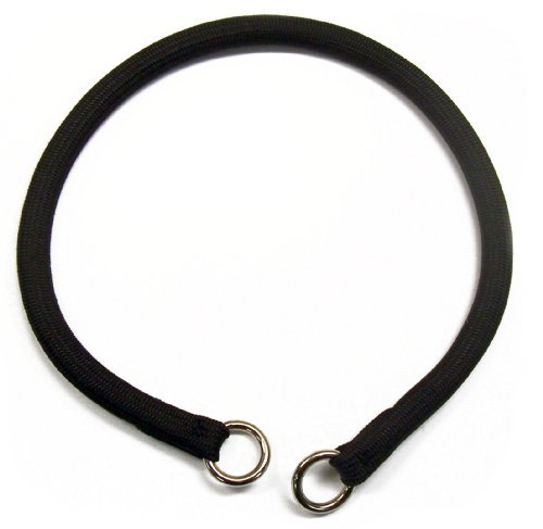 - Coastal -Round Nylon Choke Collar in Black 22