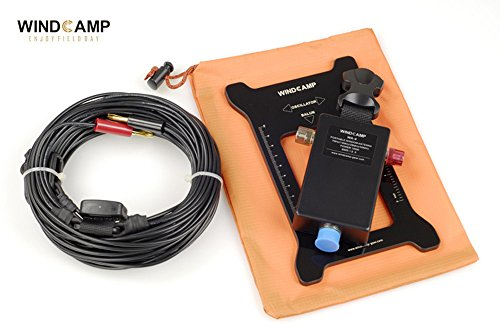 WINDCAMP Portable Windom Antenna QRP Ft-817 Eleacraft KX3 Quad-band portable shortwave Portable HF antenna 40m 20m 10m 6m