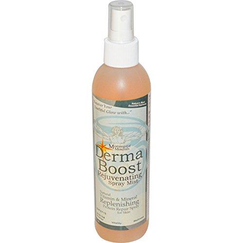 Morningstar Minerals, Derma Boost, Rejuvenating Spray Mist, 8 fl oz - 2pc
