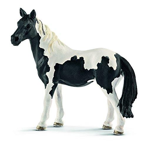 Schleich Pinto Mare Figurine Toy - Horse Farm Black