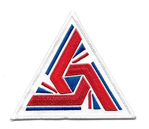 Alien Movie Triangle U.K. 700th Anniversary Flag Embroidered - Uk Bands Rim