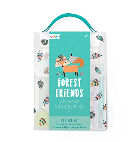 Friends Stationery (OOLY,  Gift Set Forest Friends Stationery Kit with (138-005))