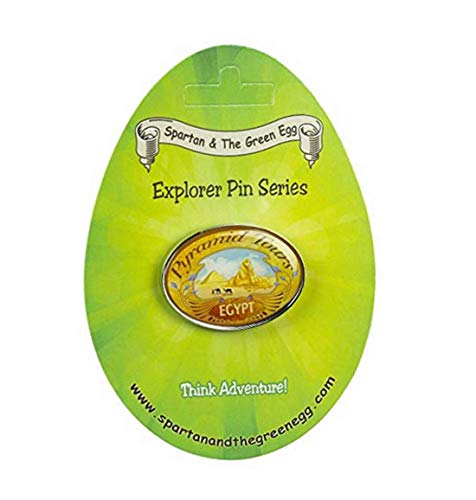 Spartan and The Green Egg Explorer Pin Series: Pyramid Tours, Egypt (11)