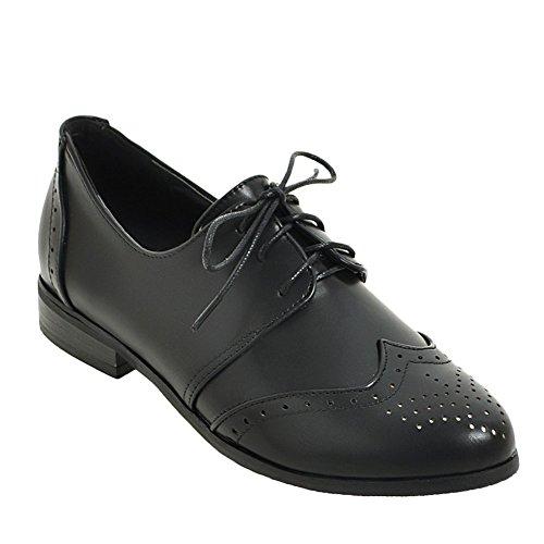 Oxford Women's Black Heel Shoes Casual Low Latasa UqxIwpdp