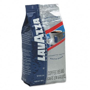 Lavazza Filtro Classico Italian House Blend Coffee COFFEE,FILTRO BEAN,2.2LB (Pack of4)