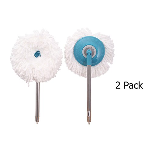 Universal 360 Spin Mop Replacement Head with the bottom part
