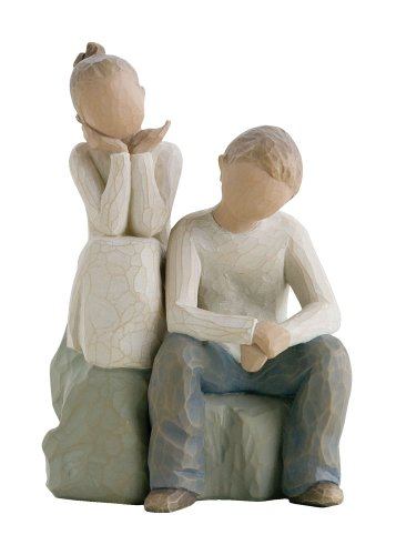 Sister Angel Figurine (Willow Tree Brother and Sister)