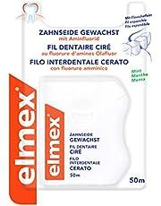 Elmex 159909 Dental Floss, gewaxt, Pack van 1