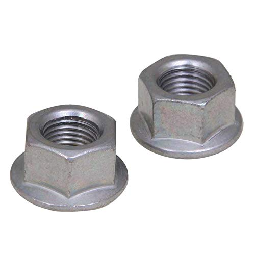 Forest Byke Company Anti-Rust 3/8 Axle Bicycle Hu Nut 3/8'' x 26T (Pair)