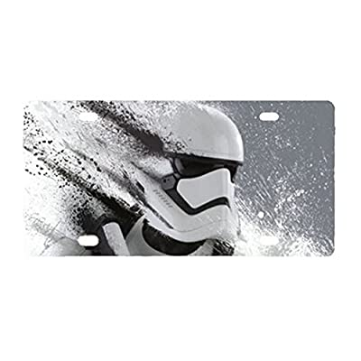 Durable Stormtrooper - Star Wars Metal License Plate Car Tag: Sports & Outdoors