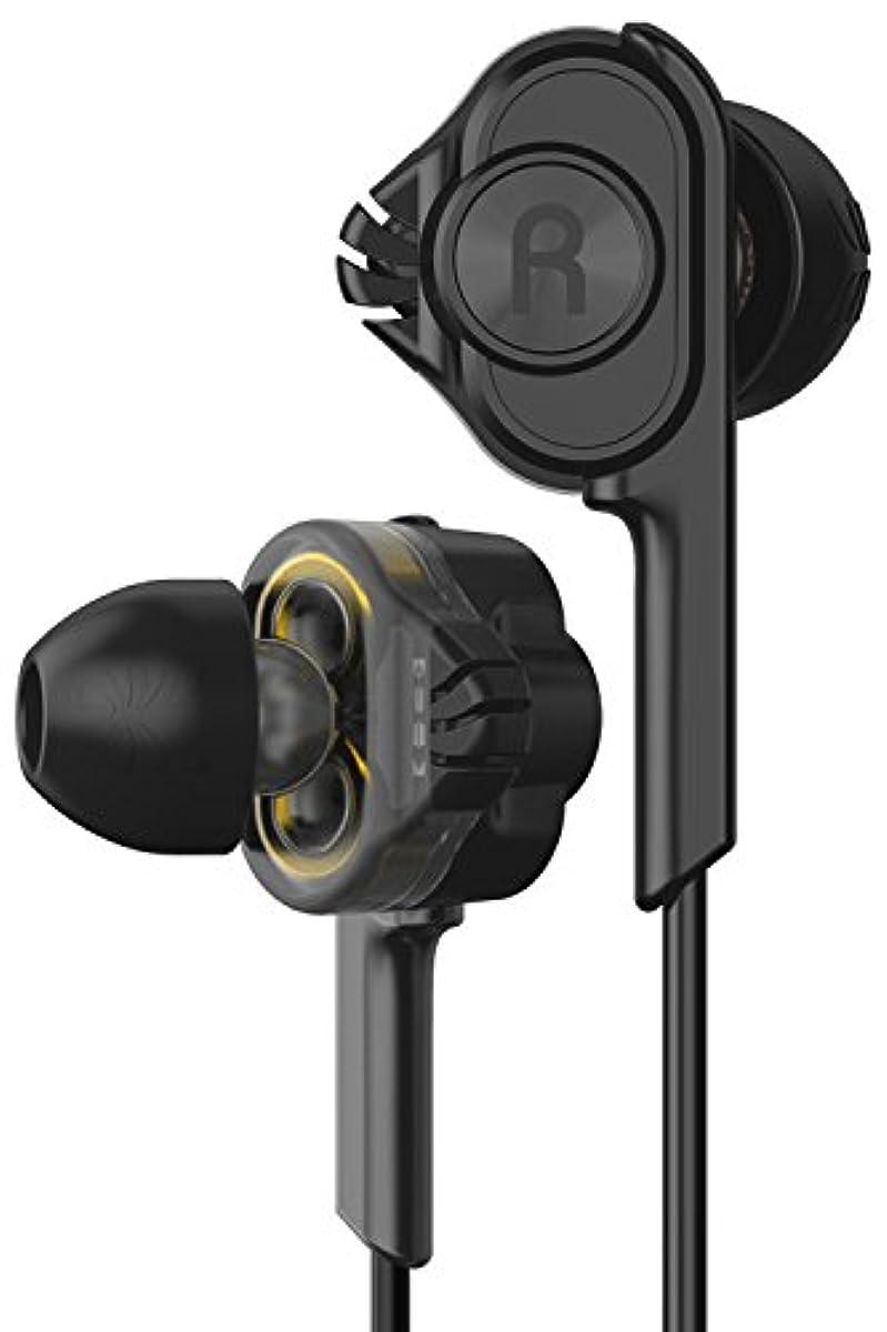 [해외] ARKARTECH T6 이어폰 고음질 하이레조 이어폰 가나루형 이어폰 중저음 HI-RES 유선 마이크 부착 리모콘 통화 가능 음량 조정 방음성 자쿠(Zaku) 휴대 스마트폰 PC 짐 스포츠 ANDROID에 대응 T61
