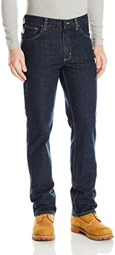 Carhartt Men's Flame Resistant Rugged Flex Jean Straight Traditional Fit