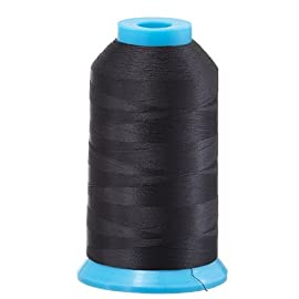 Huge Spool BLACK Embroidery Machine Bobbin Thread