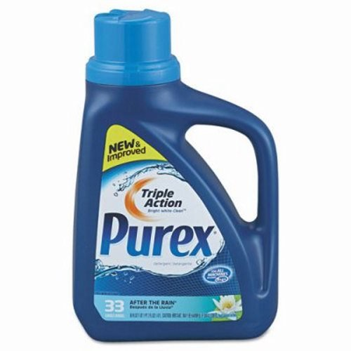 Purex Liquid HE Detergent, After the Rain Scent, 50oz Bottle (DPR04789)