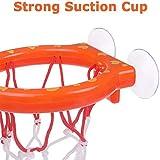 Basketball Hoop&Balls Playset,Mini Basketball Bath