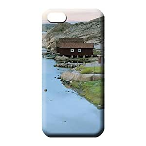 iphone 5 5s Brand Special Protective Cases cell phone carrying cases fishing cabins on a swedish river