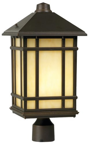 Mission Style Outdoor Lamp Post