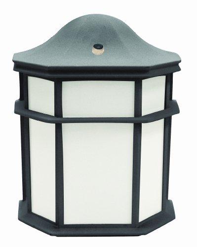 MaxLite ML4LS10SOLB 10W LED Lsd Small Lantern 2700K Black Finish Plastic Diffuser Outdoor Fixture