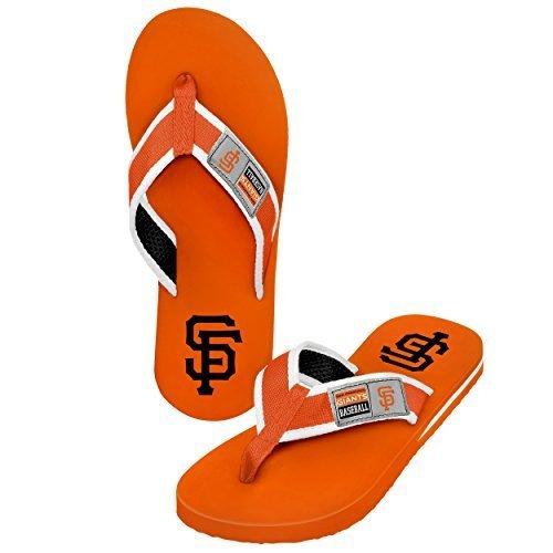 2015 MLB Baseball Mens Locker Label Contour Beach Summer Sandal Flip Flops – DiZiSports Store