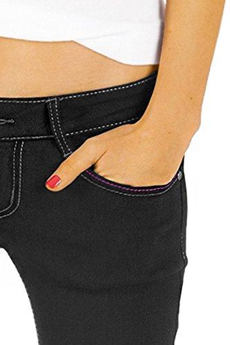 Bootcutjeans Bestyledberlin Jeans Nero Donna J46kw 1q1UZEr