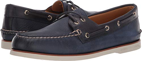 Sperry Top-Sider Gold Cup Authentic Original Rivingston Boat Shoe Men 11 Navy -