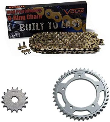 1987-1988 Yamaha Banshee 350 YFZ350 Gold Volar O-Ring Chain and Sprocket Kit