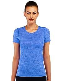 Franato Women's Short Sleeve Moisture Wicking Workout Sport Tee Shirt