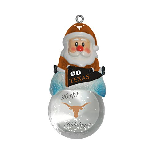 - NCAA Texas Longhorns Snow Globe Ornament