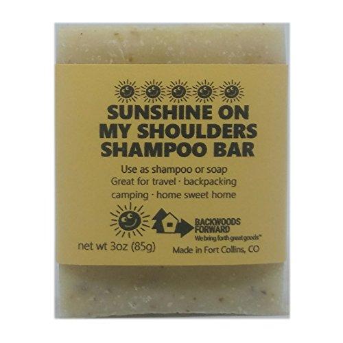 Sunshine on my Shoulders Shampoo Bar